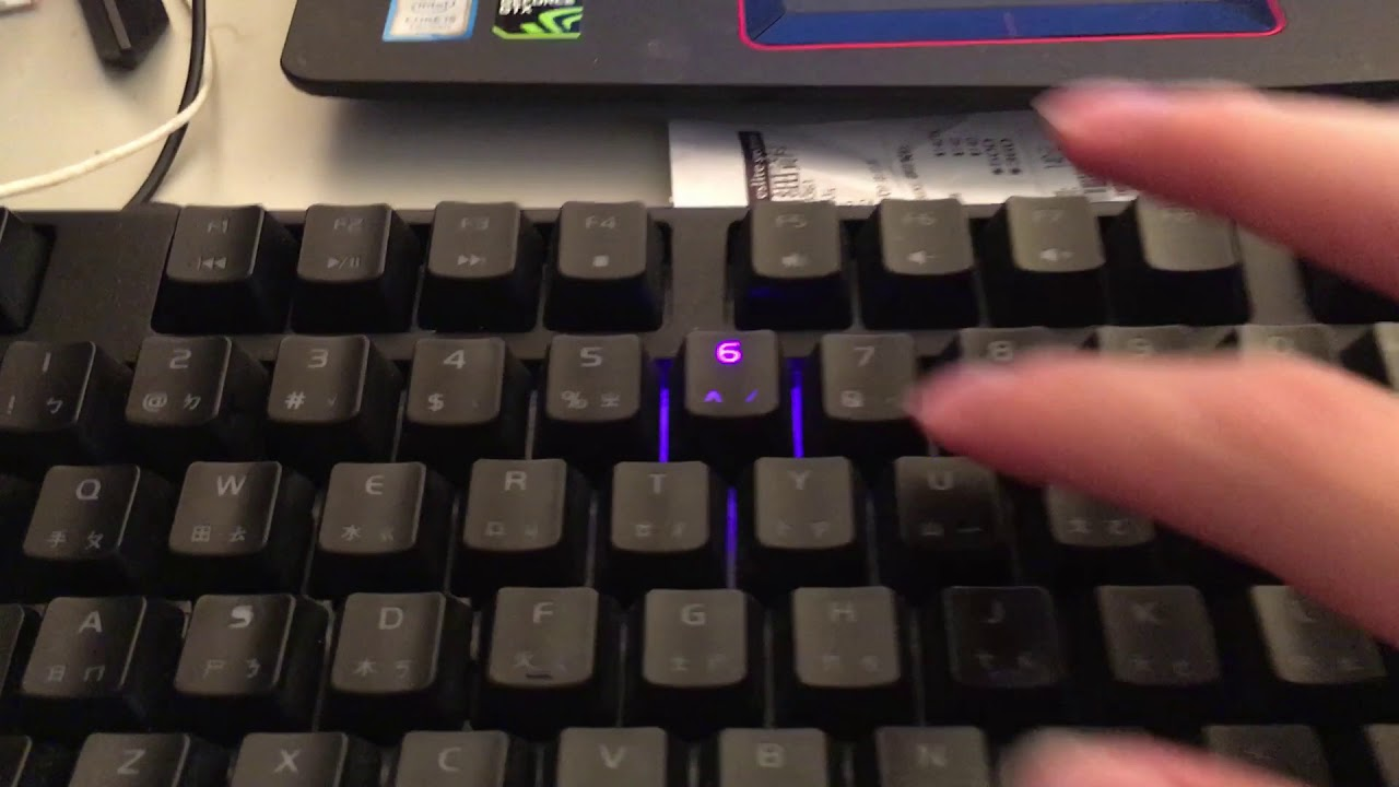 【IAshin】開箱-Corsair K70 LUX RED SWITCH RED LED鍵盤 - YouTube