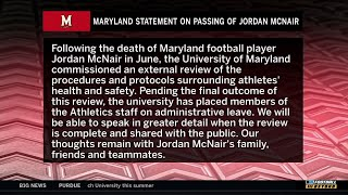 Maryland Statement on Passing of Jordan McNair | Big Ten Football