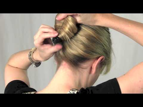 Create A French Roll With The Scunci French Twist Clip Youtube