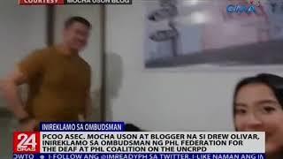 PCOO Asec. Uson at blogger na si Olivar, inireklamo sa Ombudsman ng Phl Federation for the Deaf