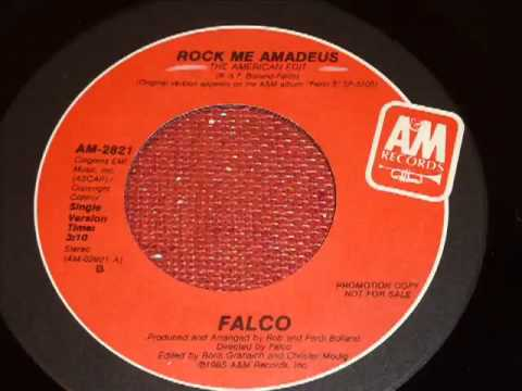Falco   Rock Me Amadeus The American Edit 45rpm   YouTube