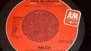 Falco   Rock Me Amadeus The American Edit 45rpm   YouTube