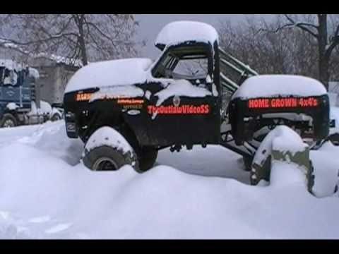 Cold Starting TheOutlawVideoSS 4X4 Mud Truck