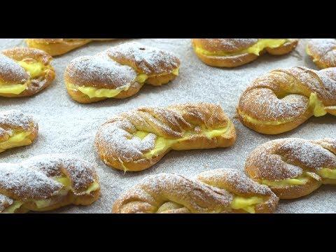 e46097d7dd65 Lahodné mini koláče plnené vanilkovým krémom - YouTube