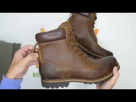53c733992b0 Timberland 6 Inch Rugged Waterproof - Brown - Walktall | Unboxing ...