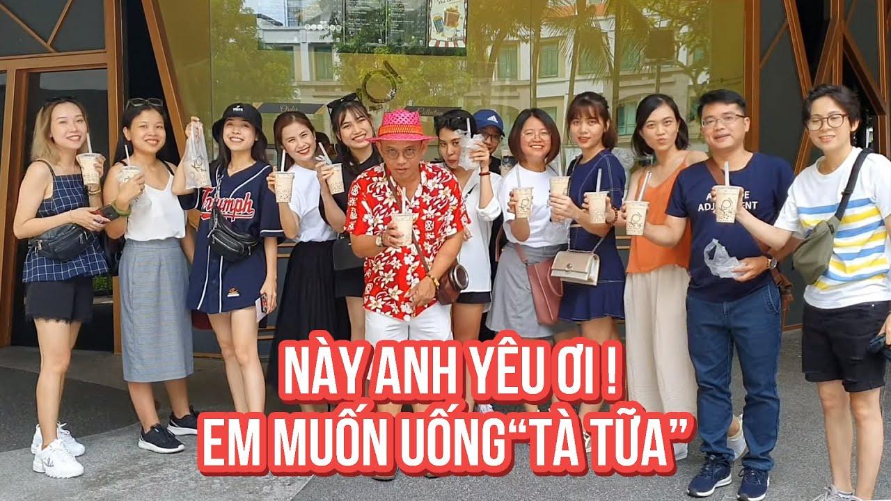 Food For Good #547: Trà sữa KOI Singapore ngon hơn KOI Vietnam là vì nguồn nước ???