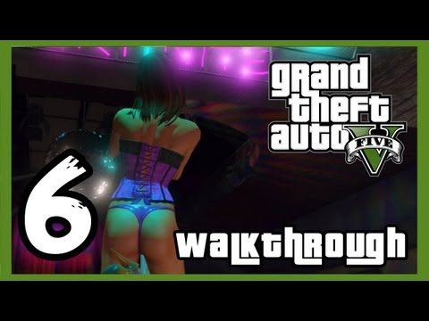 "Grand Theft Auto V Walkthrough PART 6 [PS3] Lets Play Gameplay TRUE-HD QUALITY ""GTA 5 Walkthrough"""