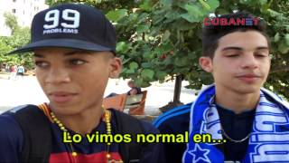Con o sin luto, los cubanos no se pierden el clásico Barça-Madrid
