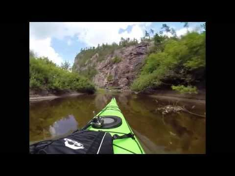 PART 1 of 3 - 4 Day Agawa Canyon River Kayak Portage Fully Narrated GOPRO by Green Blue Earth