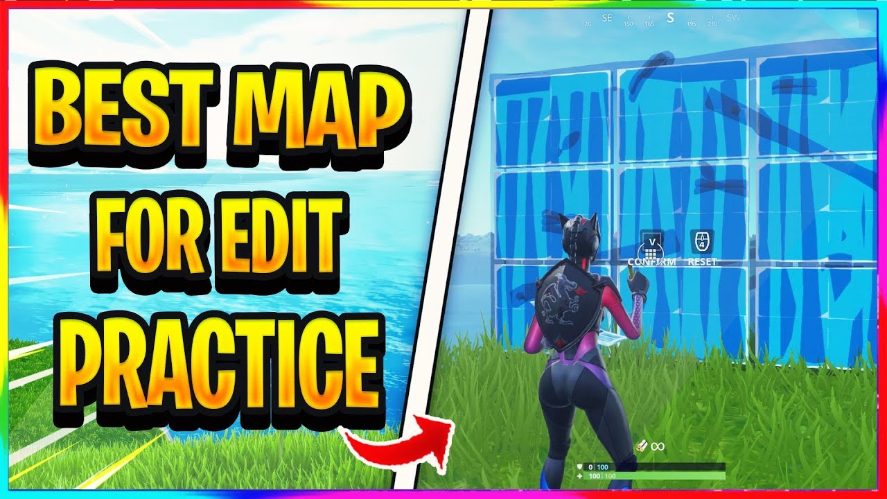 New Best Map For Building And Edit Practice In Fortnite Creative