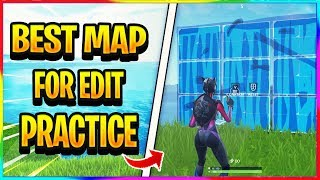 *NEW* BEST MAP FOR BUILDING AND EDIT PRACTICE IN FORTNITE (Creative Share Code)