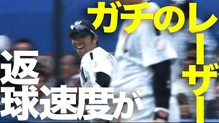 こりゃ無理だ...強肩・清田の前に川崎が自重 5月1日 ロッテ-ソフトバンク