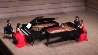 Rosenblatt Carmen Fantasy 2台ピアノ ローゼンブラット カルメンファンタジー 佐藤久美 近藤利恵子