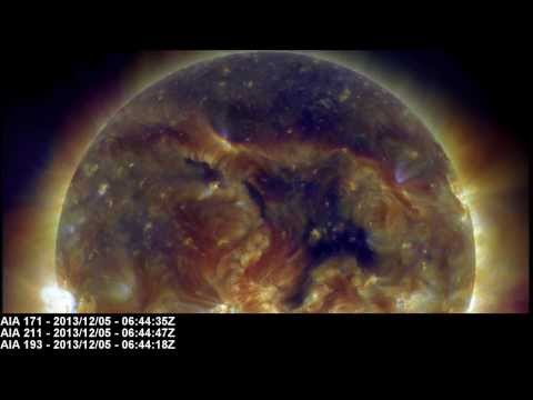 Earth-Directed Coronal Hole (CH596) | December 05, 2013