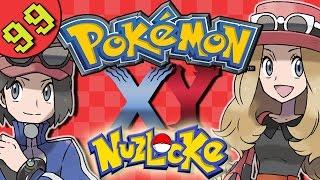 Pokemon X and Y Episode 99 | Lets Play Pokemon XY Gameplay |  - VS Multiplayer Nuzlocke | Shambles