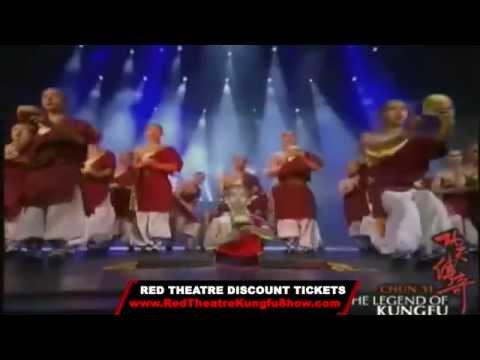 Legend of Kung Fu Show Trailer! Red Theatre Beijing
