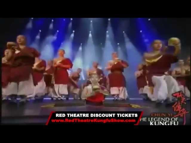 Legend of Kung Fu Show Trailer! Red Theatre Beijing