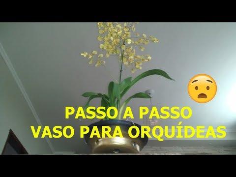 🌺🍯DIY- VASO PERSONALIZADO DE CIMENTO PARA ORQUÍDEAS