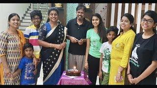 Actress Roja Husband RK Selvamani Birthday Celebrations With Family