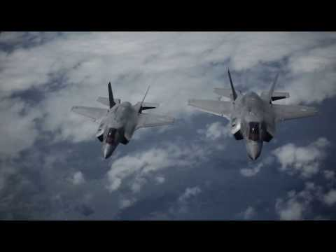 Defence News Ultra Technological F 35 in Action   Vertical Takeoff & Refueling