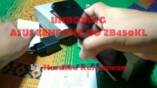 UNBOXING ASUS ZENFONE GO ZB450KL INDONESIA : 4G LTE + KAMERA PIXEL MASTER + DESAIN MEWAH DI 1,2 JUTA