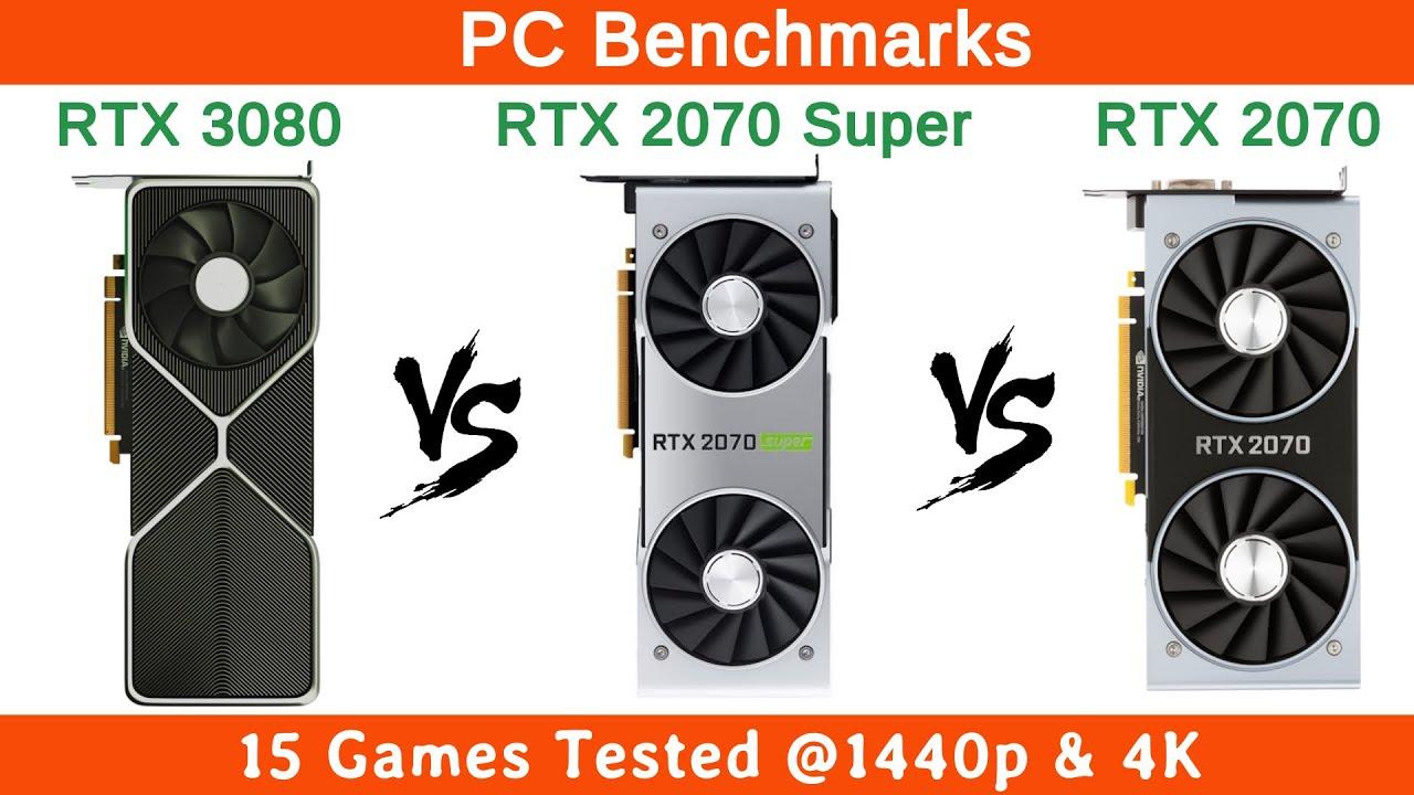 Nvidia RTX 3080 vs RTX 2070 Super vs RTX 2070