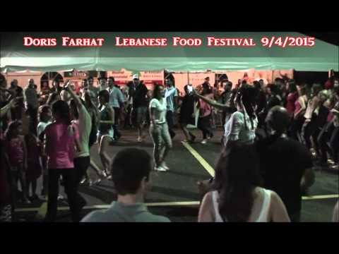 Doris Farhat  Lebanese Food Festival 9/4/2015