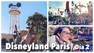 Disneyland Paris 2018 vlog en parques Disney: Día 2 / Walt Disney Studio Park