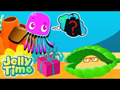 Where Is The JELLY FISH? | Jelly & Shelly Adventures | Underwater Adventures | WildBrain Cartoons