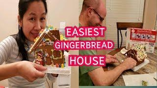 Making Easiest Gingerbread House ชีวิตในอเมริกา goods mystore15