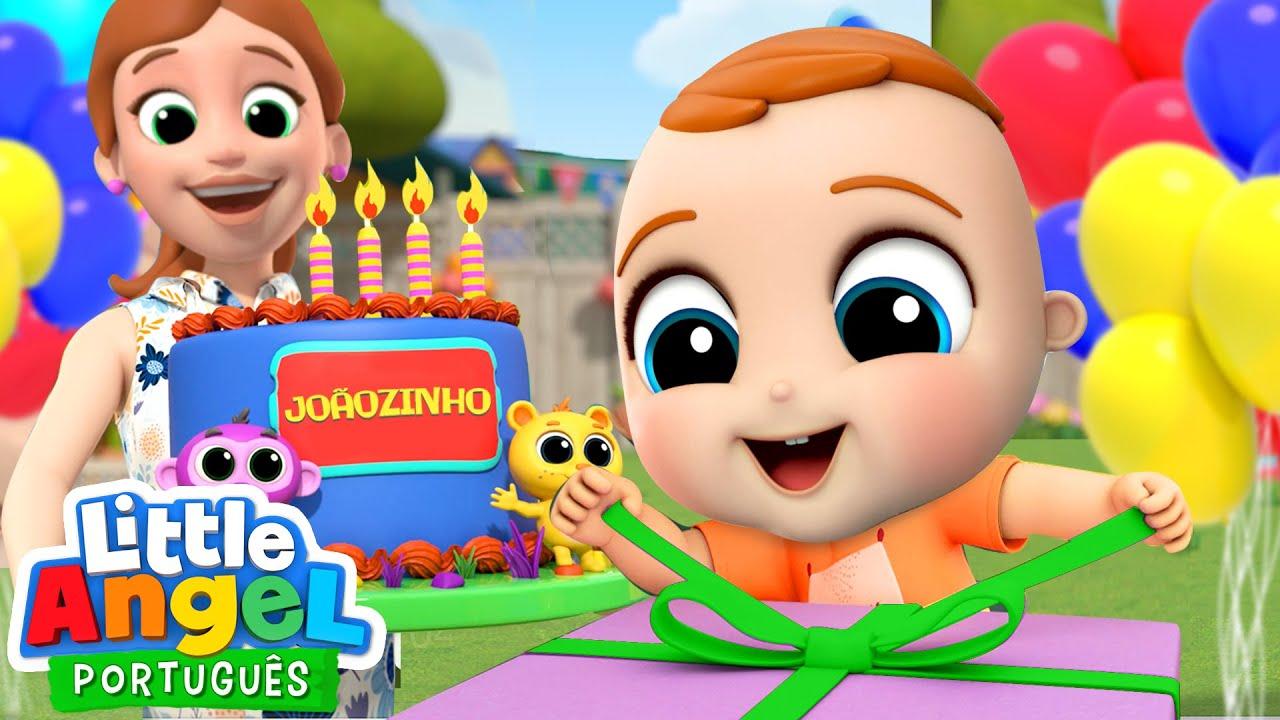 A Festinha de Aniversário do Joãozinho! 🎈   Canal do Joãozinho - Little Angel Português