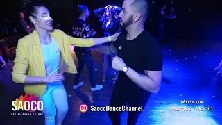 Ernesto Bulnes and Tatiana Kondrashova Salsa Dancing at 2nd Moscow MamboMania weekend, Sun 10.03.19