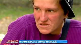 O fostă campioană la biliard a ajuns om al străzii! Liliana Petrişor s-a pierdut când clubul ei