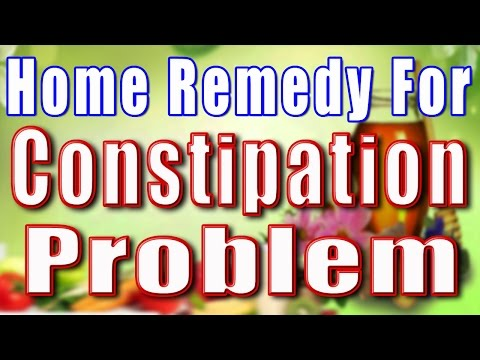 Home Remedy For Constipation Problem
