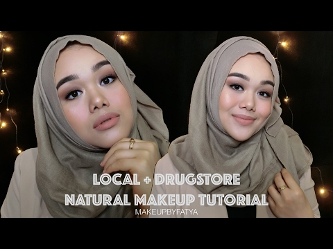Local + Drugstore Natural Makeup Tutorial | Bahasa Indonesia | MakeupbyFatya