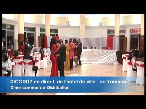 DICODI17 en direct  de l'hotel de ville   de Yaoundé
