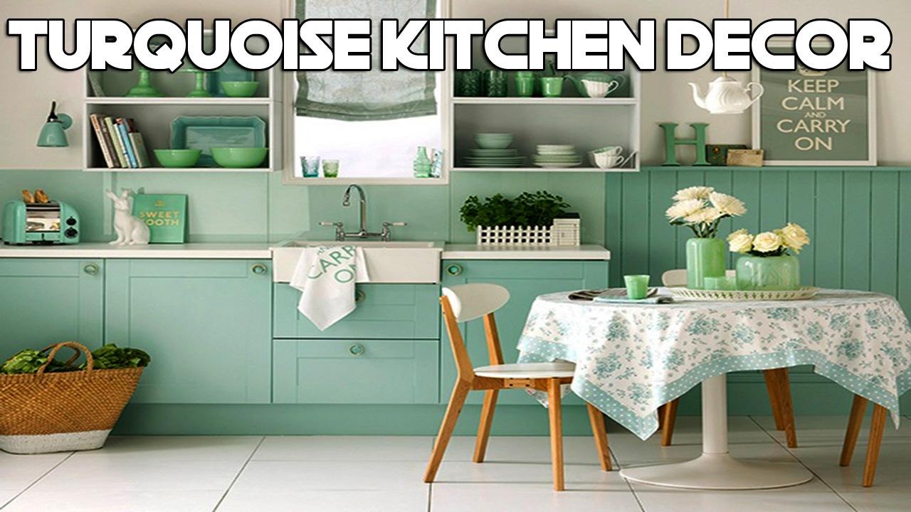 Daily decor turquoise kitchen decor