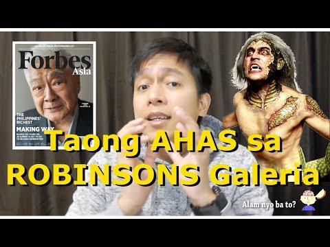 Ahas sa Robinsons Galeria - Urban Legend