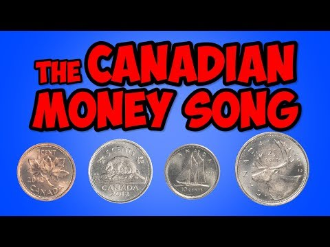 The Canadian Money Song | Penny, Nickel, Dime, Quarter | Math Song for Kids | Jack Hartmann