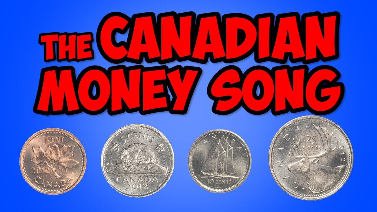 The Canadian Money Song Penny Nickel Dime Quarter Math Song For Kids Jack Hartmann