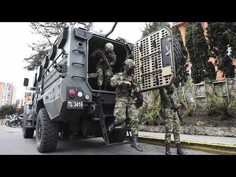 Cascada de condenas contra la represión de las protestas en Colombia