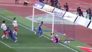 2015 J1第2節 ヴァンフォーレ甲府vs名古屋グランパスの阿部翔平のフリー...