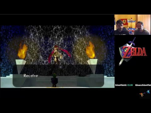 The Legend Of Zelda : Ocarina of Time  - Live !
