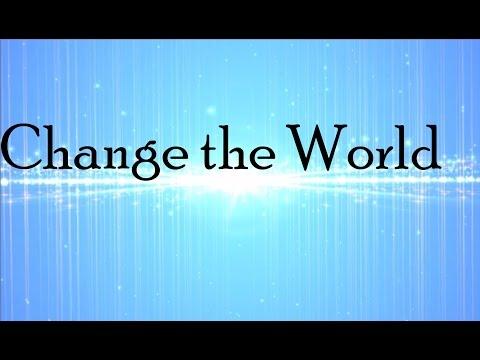 Derek Minor - Change The World [ft.  Hollyn] (Lyric Video)