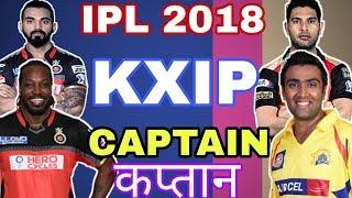 IPL 2018: Kings XI Punjab Next Captain | List Of 3 Strong Players |