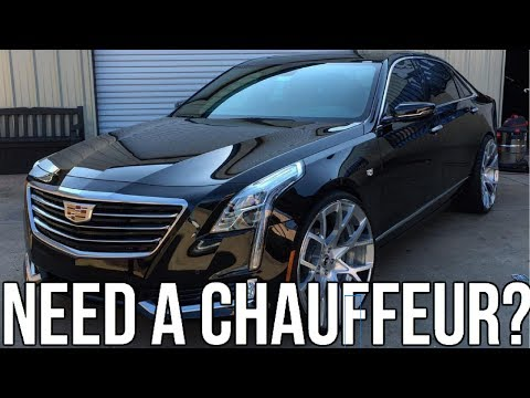 2017 Cadillac CT6 Review!! From A Tall Guys Perspective