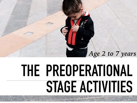 Preoperational Stage Activities | Early Childhood Education