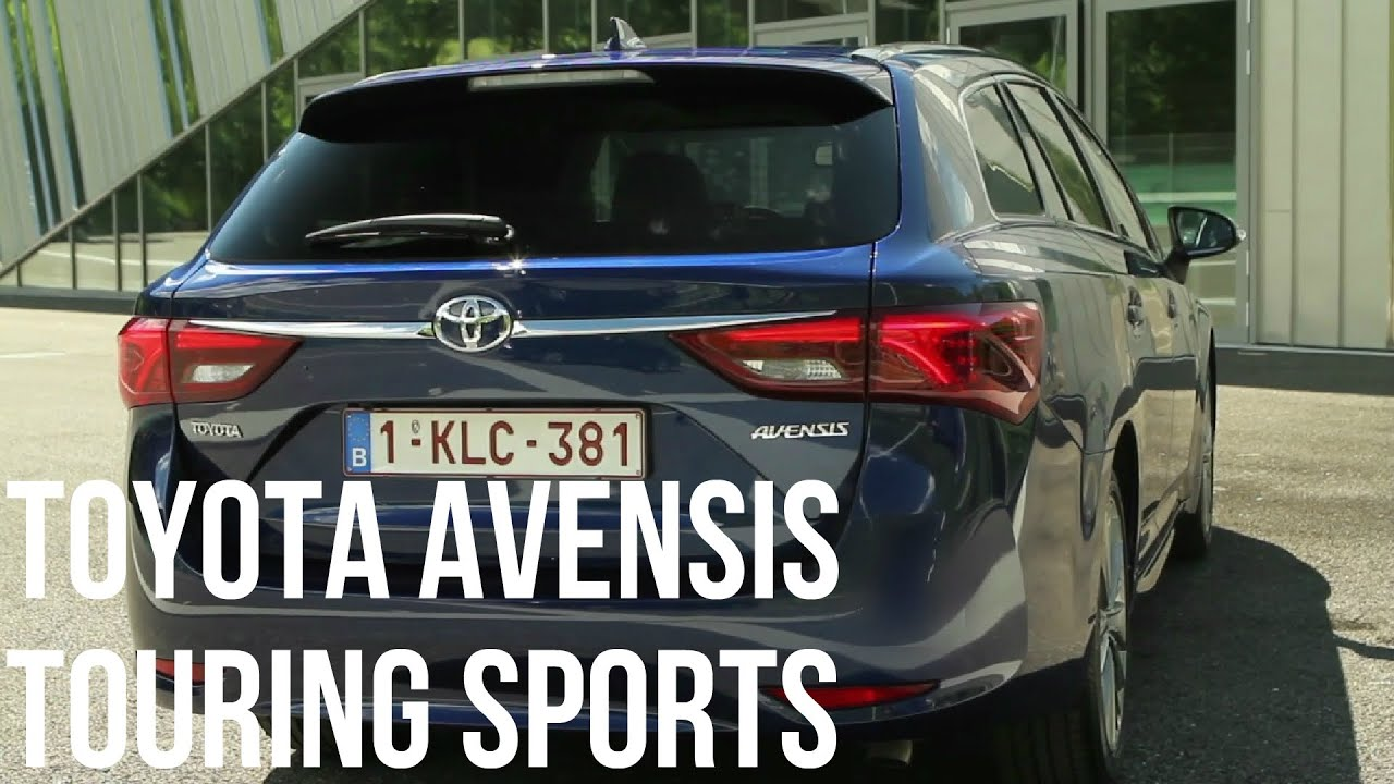 2015 toyota avensis touring sports interior exterior and drive youtube. Black Bedroom Furniture Sets. Home Design Ideas