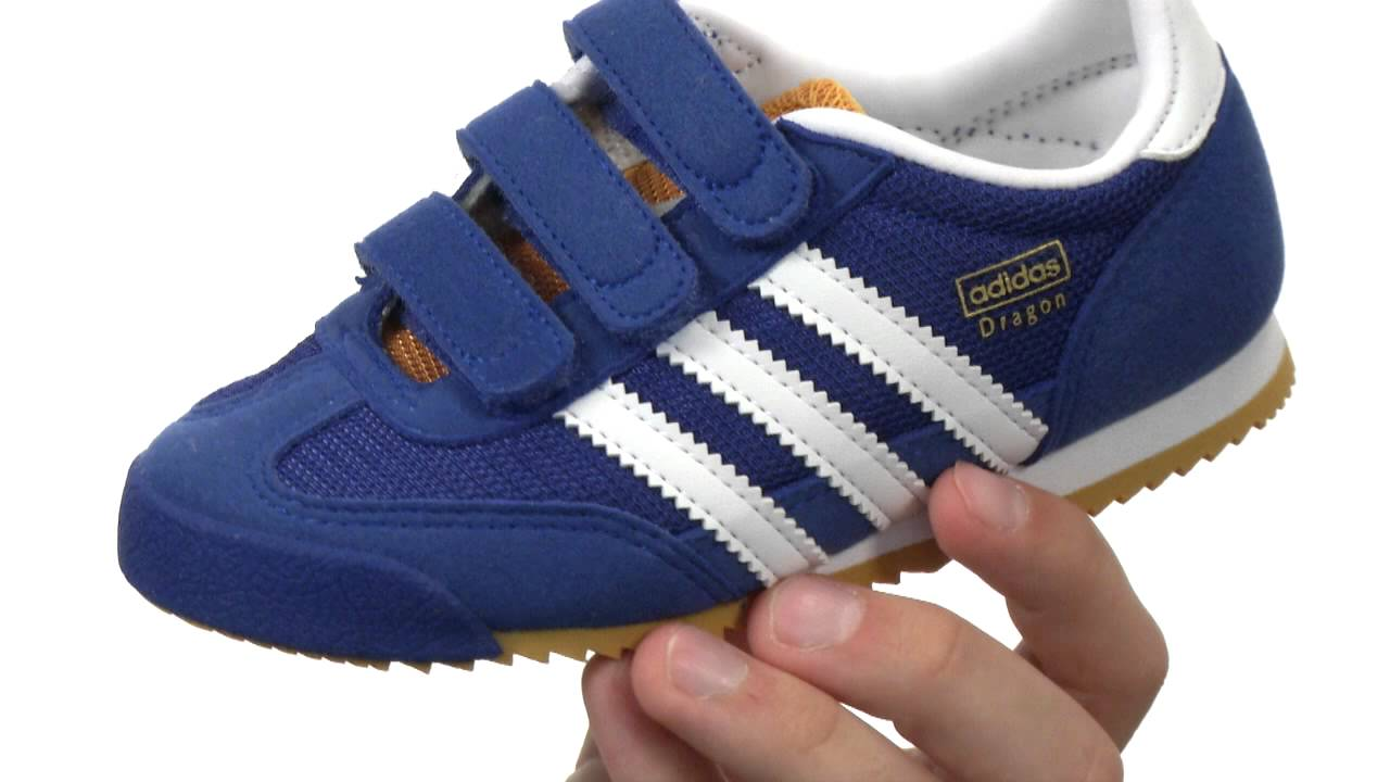 f9684a967cb0 adidas Originals Kids Dragon (Little Kid) SKU 8344965 - YouTube
