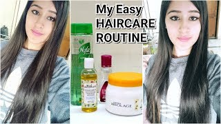 My Honest HairCare Routine- Simple & Effective Haircare routine